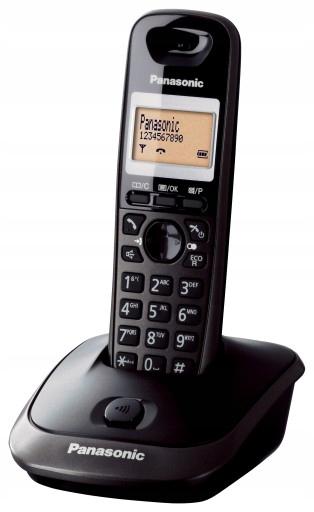 Telefon Panasonic KX-TG2511 Duże Przyciski SENIOR