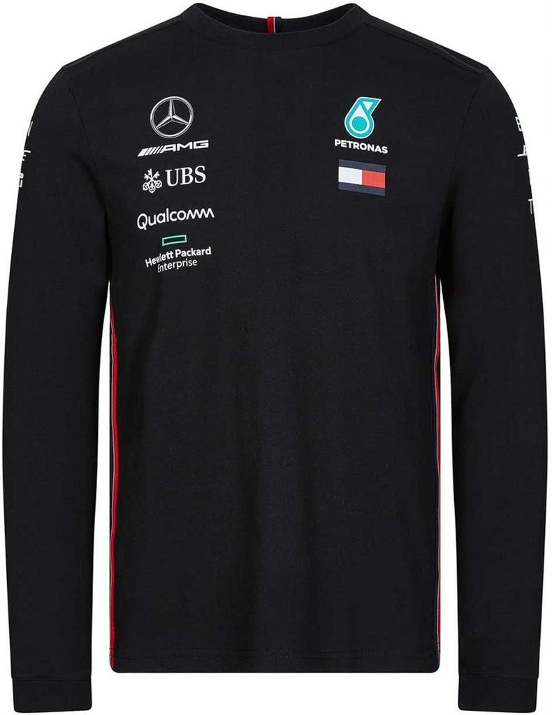 Koszulka Longsleeve Mercedes AMG 2019 czarna r.L