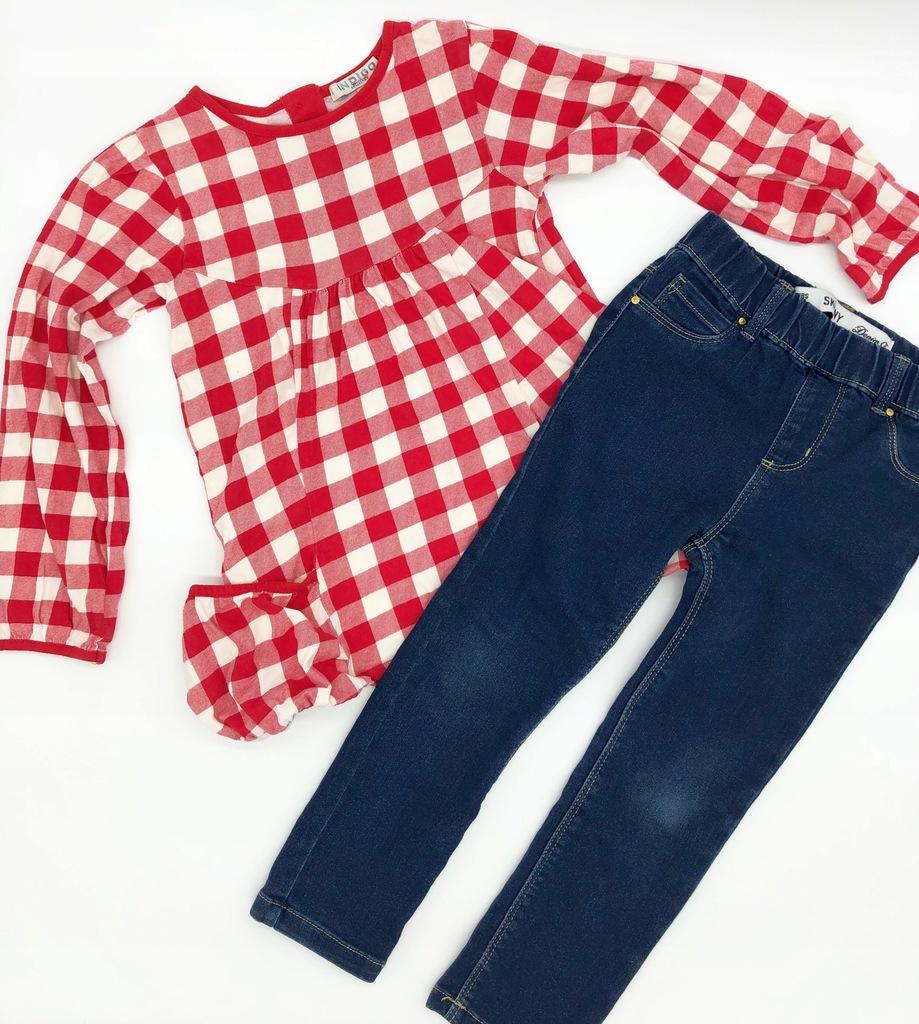 PRIMARK M&S zestaw spodnie bluzeczka wiosna