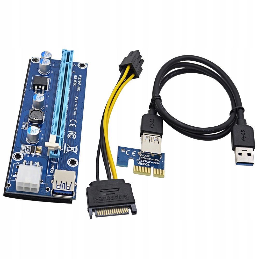 RISER 006C PCI-E 1-16 USB3.0 GW12