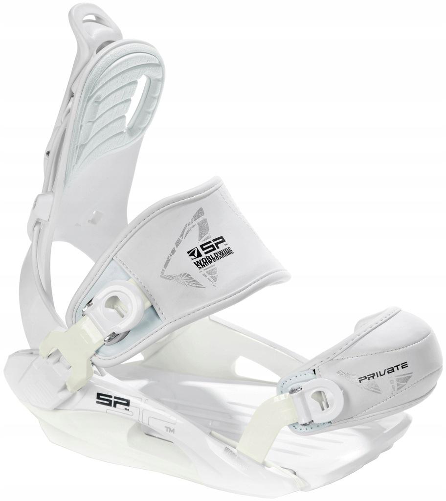 Wiązania Snowboardowe SP Private White S(M)