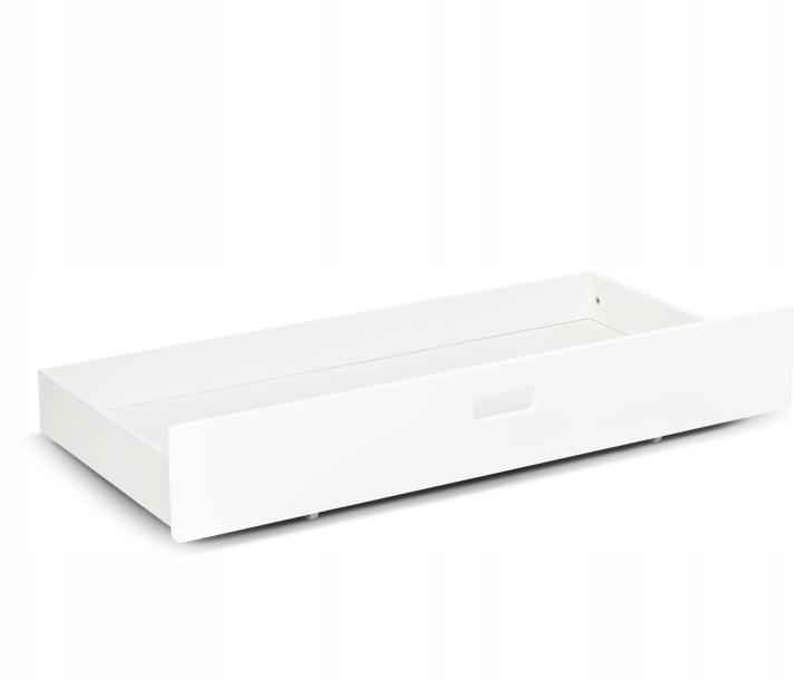 Szuflada pod łóżeczko moKee   kolor biały