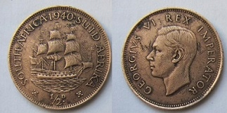 RPA 1/2 cent 1940
