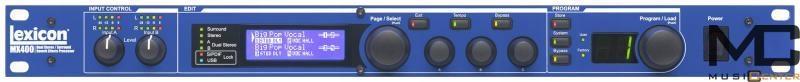 Lexicon mx400 procesor dźwięk reverb efekt wok VAT