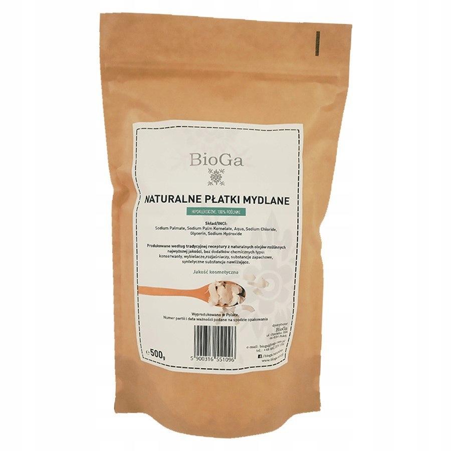 Naturalne płatki mydlane Bioga, 500g Bioga