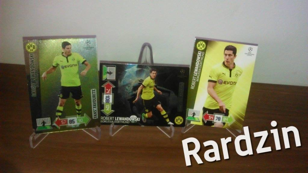 Robert Lewandowski Champions 2012-2013 3x