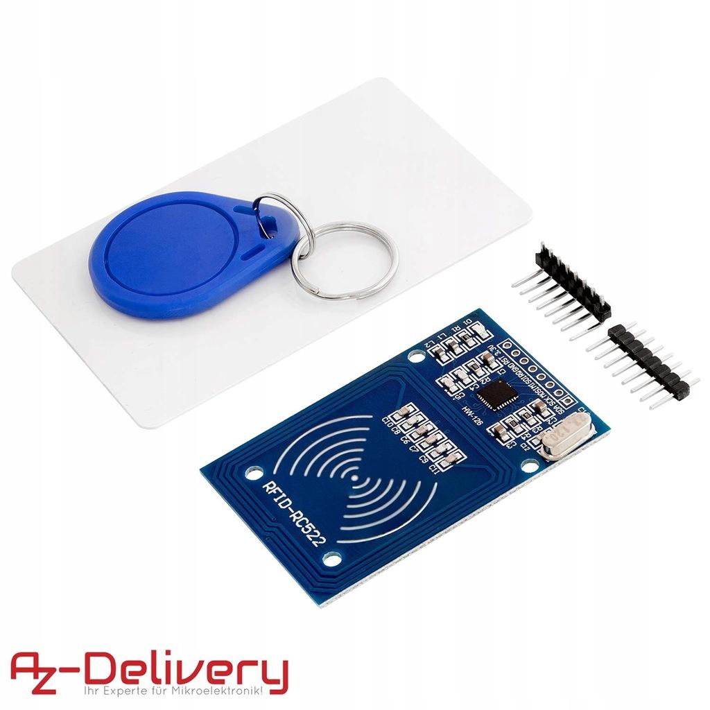 Zestaw RFID RC522 czytnik chip karta do Arduino
