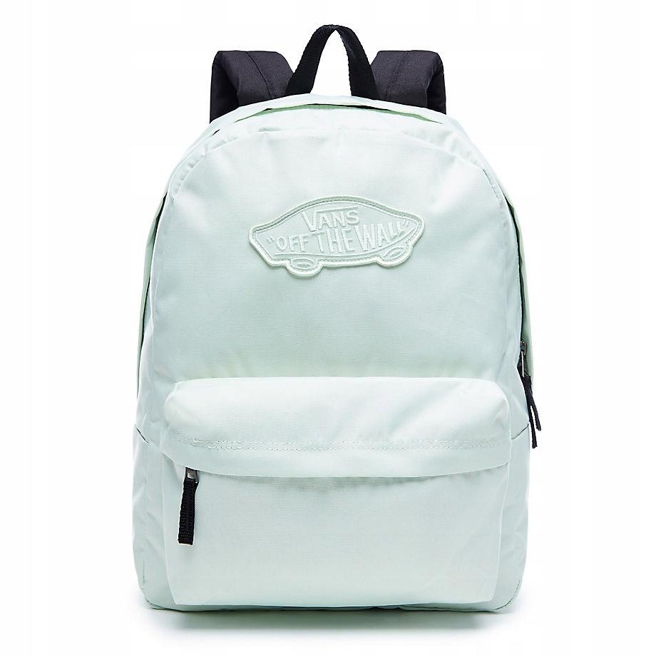 Vans Realm Plecak Mietowy Klasyczny Logo 7551277427 Oficjalne Archiwum Allegro