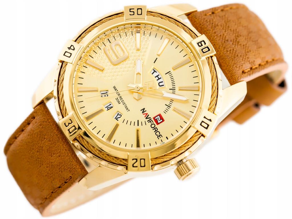 Zegarek męski Naviforce zn069d + BOX + GRAWER