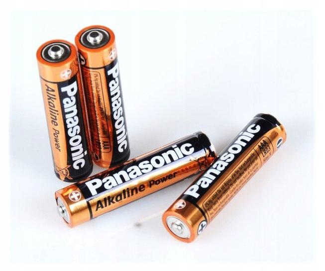 Bateria Alkaliczna Panasonic 1,5V LR03 AAA - Blist