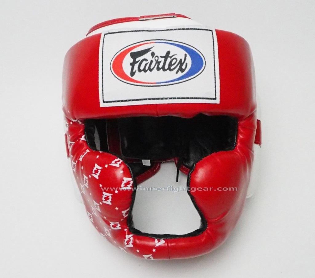 Kask fairtex bokserski sparingowy HG10L MMA Red