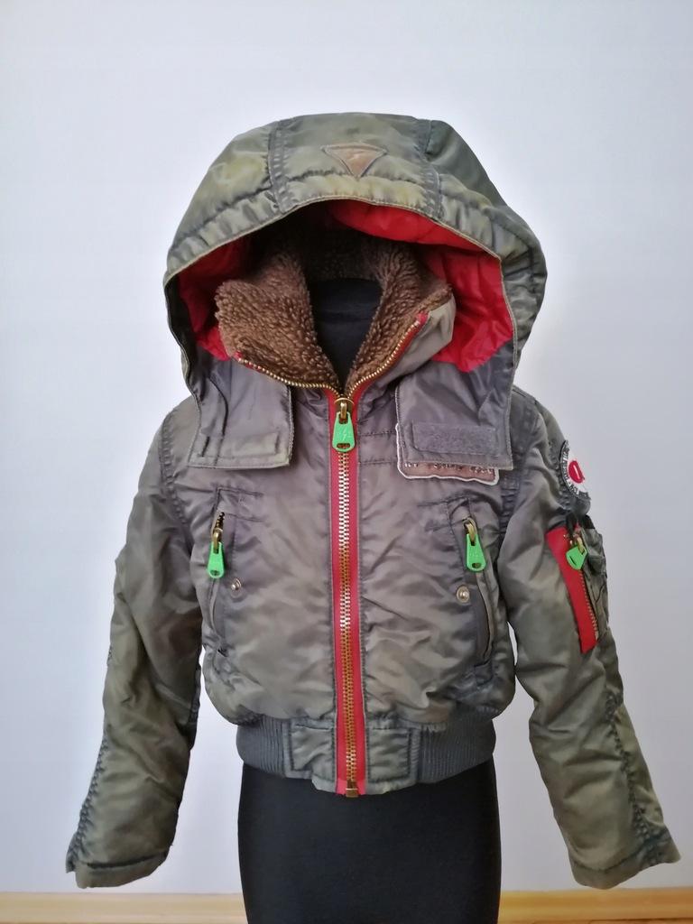 RAGS - Oryginalna kurtka, pilotka dla chłopca 104