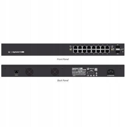 Ubiquiti EdgeSwitch ES-16-150W Managed, Rack mount