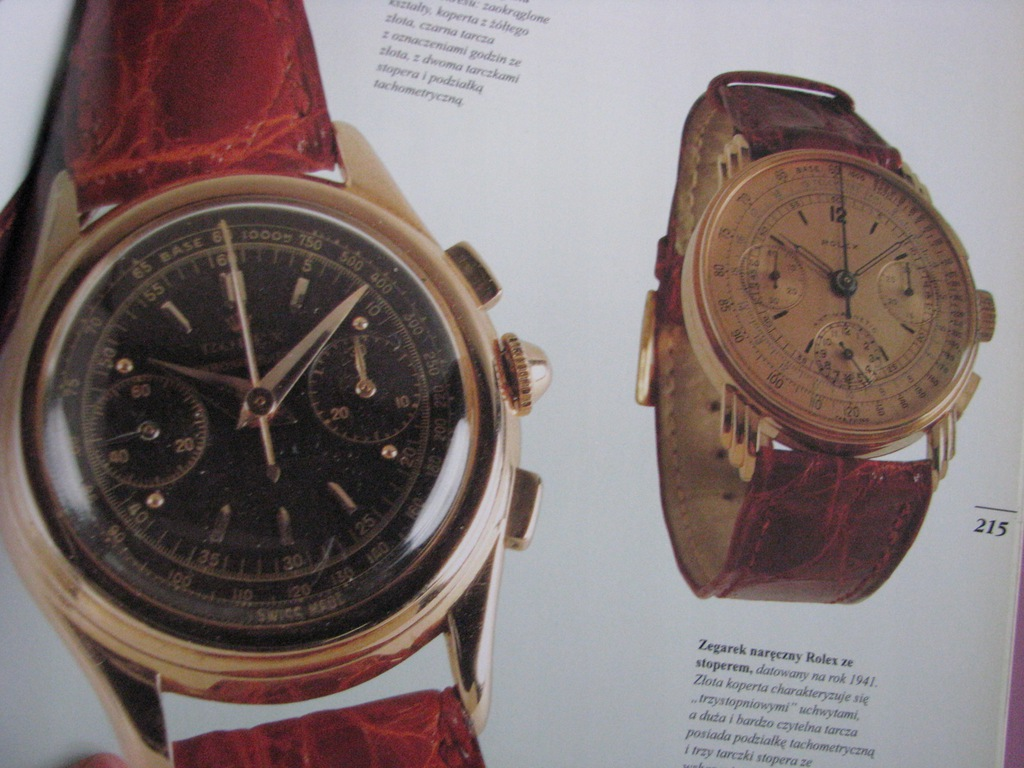 Datowanie zegarków Cartier