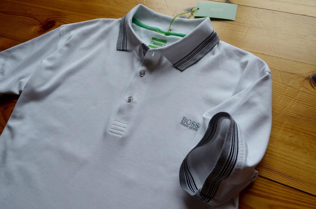 Koszulka biała POLO HUGO BOSS XL/XXL PREMIUM