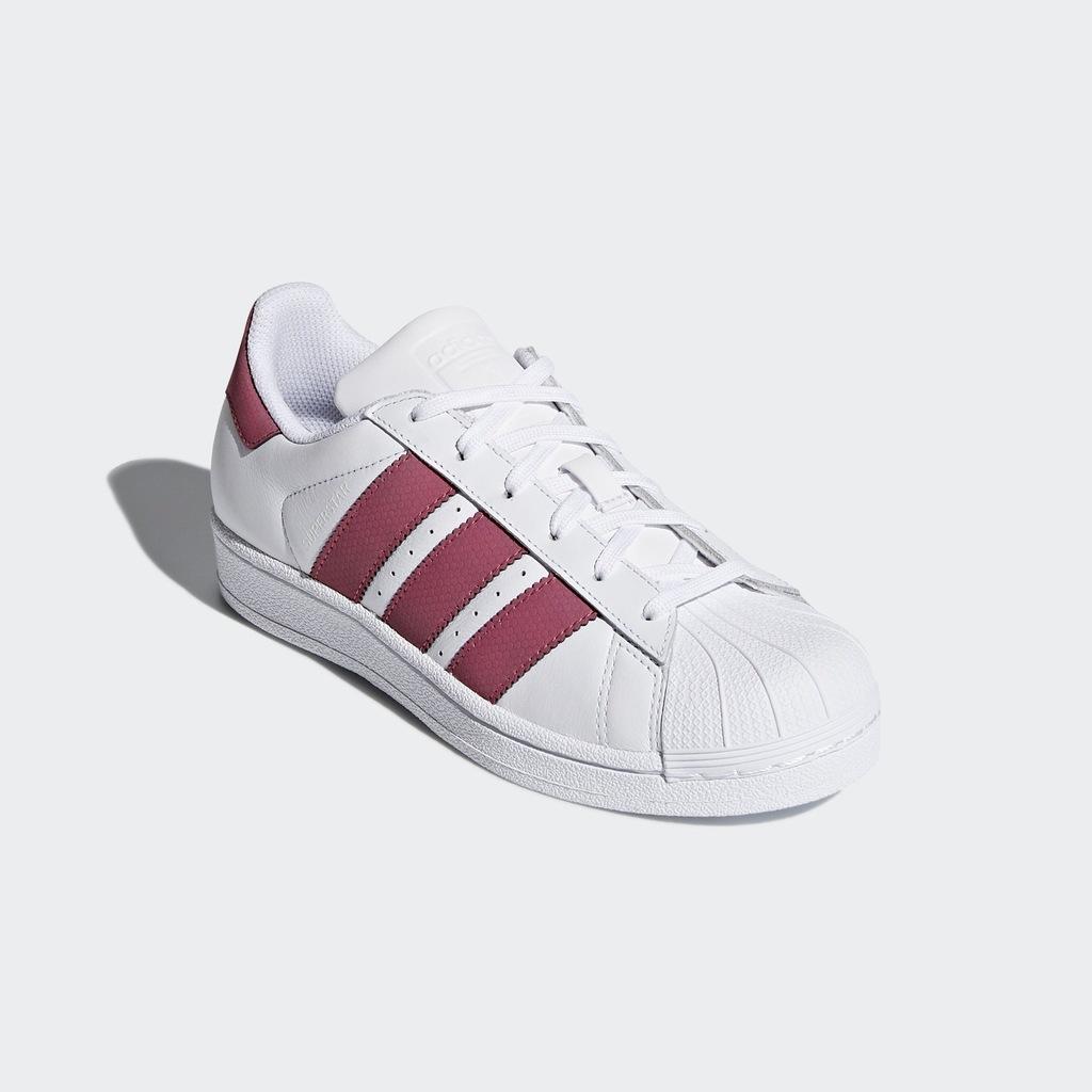 Damskie Adidas Originals Superstar 2 Obuwie Biały Różowy