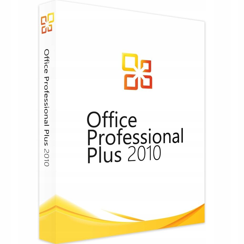 Klucz do Office 2010 Pro Professional Plus