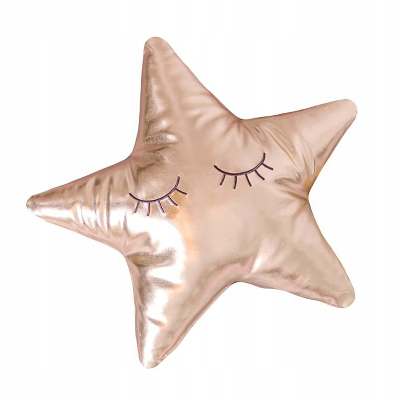 Bizzi Growin Gold Star poduszka przytulanka Złota