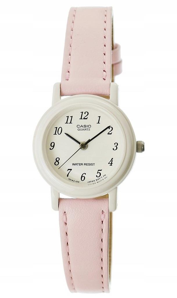 Zegarek Casio różowy dla dziewczynki