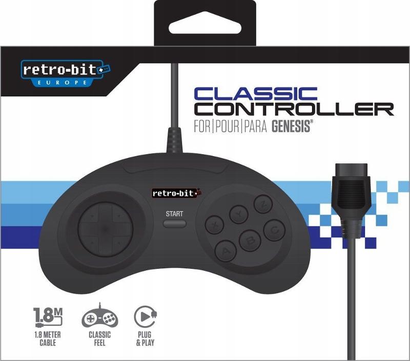 Sega Mega Drive kontroler pad Retro-bit