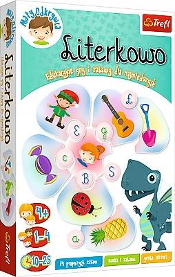 Gra edukacyjna Literkowo, Mały odkrywca TREFL