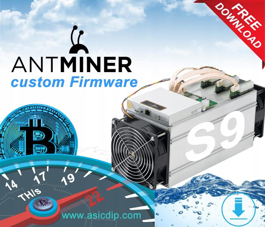 Antminer S9/S9i Custom Firmware Oprogramowanie