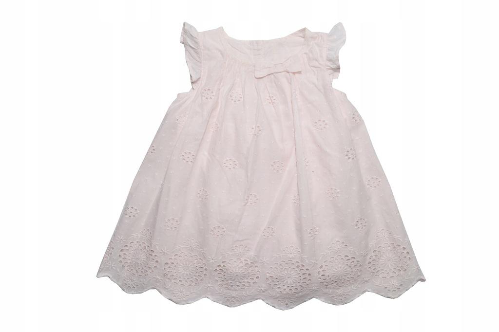 Z361. TU sukienka r. 68-74, 6-9 m-cy