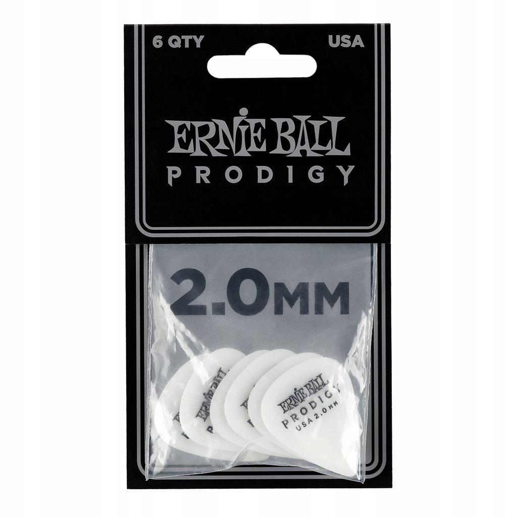 Ernie Ball Prodigy 2.0 - Zestaw kostek (6 szt.)