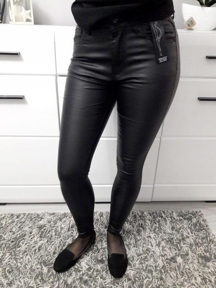 Spodnie woskowane nowe ocieplane 42 XL