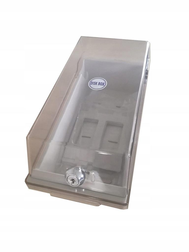 Pudełko na dyskietki 3.5 Kelly's 50dysk klucz NOWE