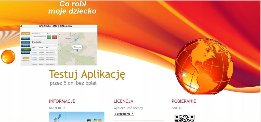Serwis babycheck.pl + domena + aplikacja Android