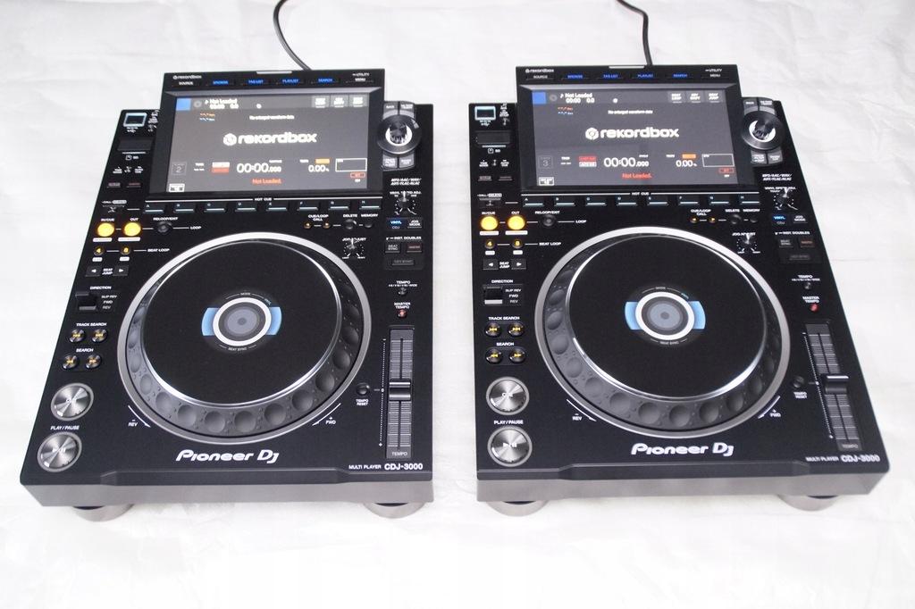 2 X PIONEER CDJ 3000 GWARANCJA DJM 900 2000 nexus