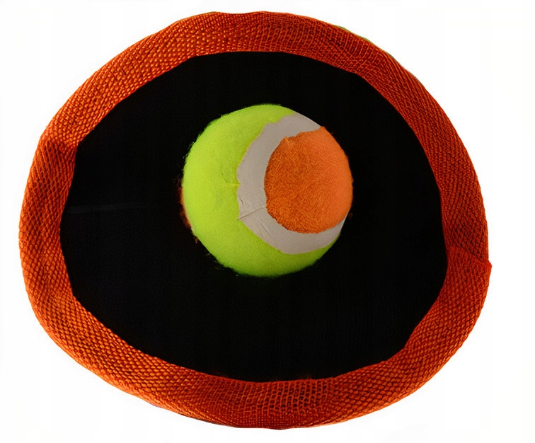 Outdoor Fun catch Soft velcro 18 cm pomarańczowy
