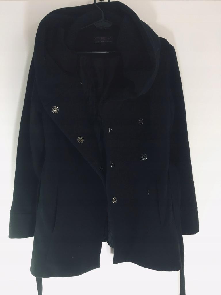 New look__kurtka płaszczyk klasyczna czarna 38