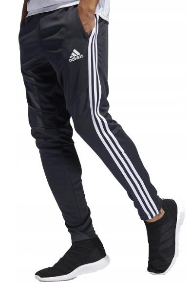 oferta Spodnie sportowe Adidas z poliestru Odzież Męska XZ