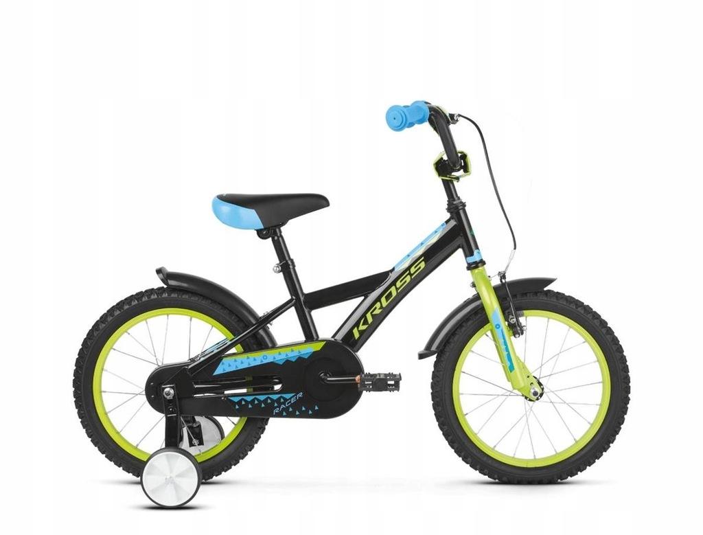 Rowery dziecięce Kross Racer 3.0 Czarny 16 Zielony