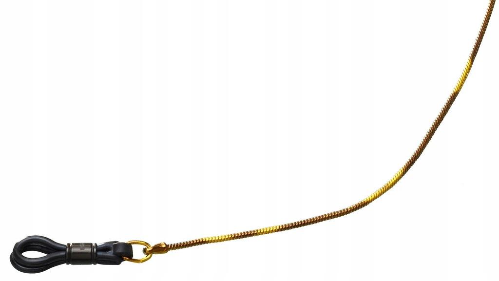 Henri Beaud sznur okularów Serpent 65 cm stal