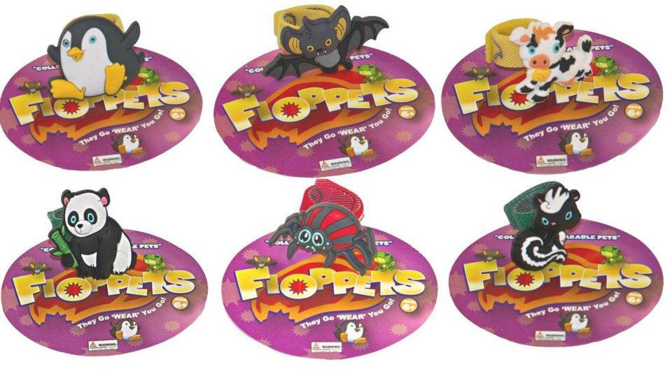 Rzepki zwierzaki fioletowe - Floppets