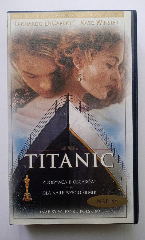 Titanic kaseta VHS wersja panoramiczna nowa