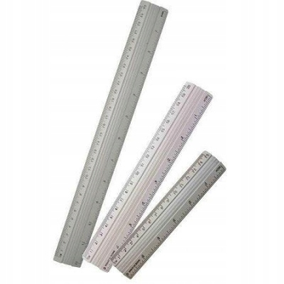 Linijka aluminiowa 20cm NOSTER