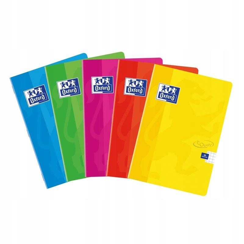 Zeszyt A5 60 Kartek Gladki Soft Touch Oxford 5 Szt 7547555882 Oficjalne Archiwum Allegro