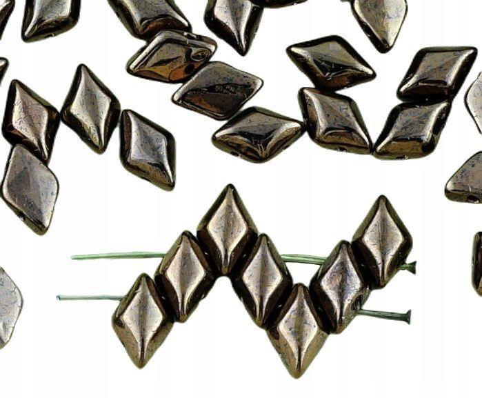 60 metaliczny jasny brąz matowy połysk gemduo