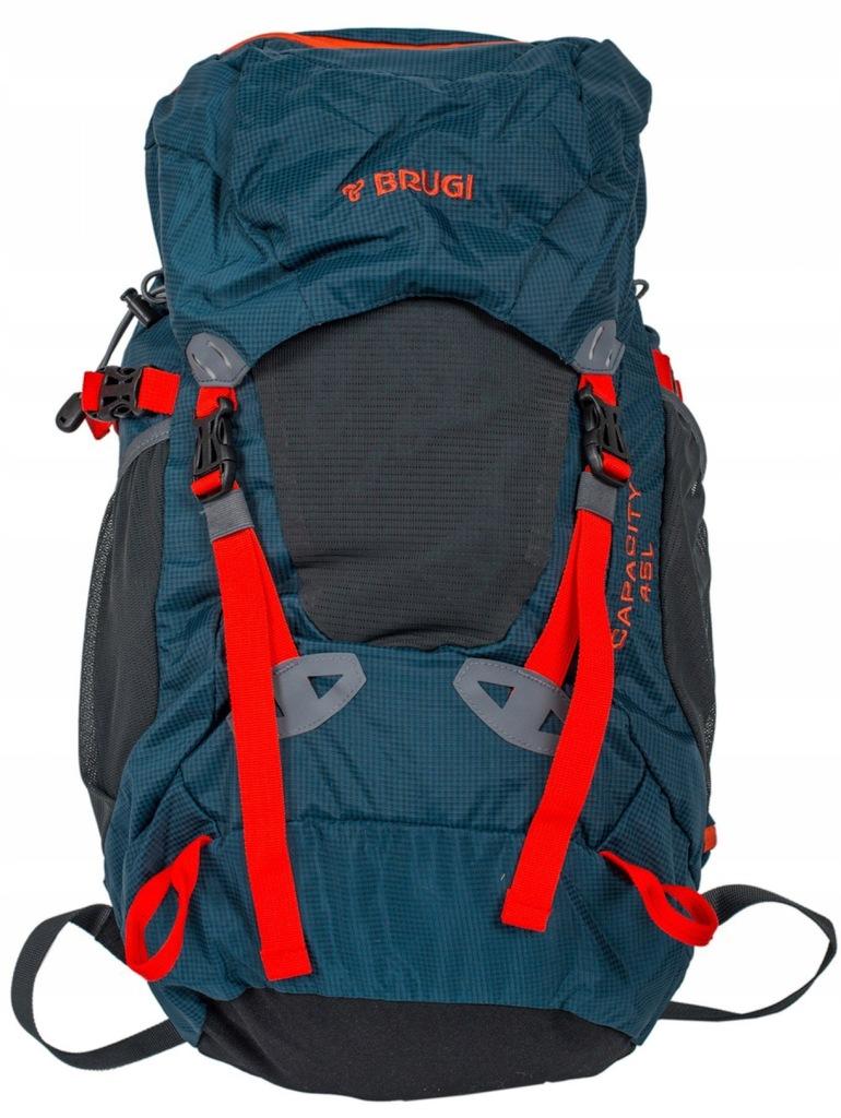 Plecak turystyczny 45l 4ZGT Brugi - Granatowy