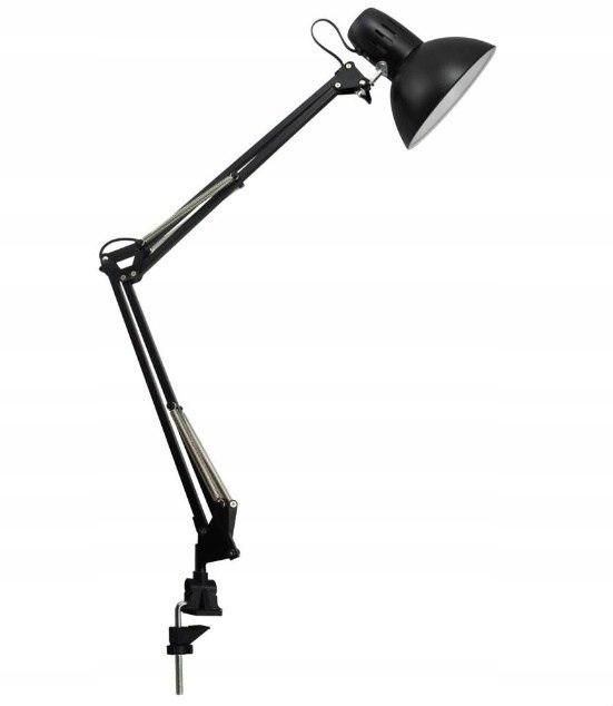 Lampa biurkowa EYS BLACK 60cm przykręcana Architek