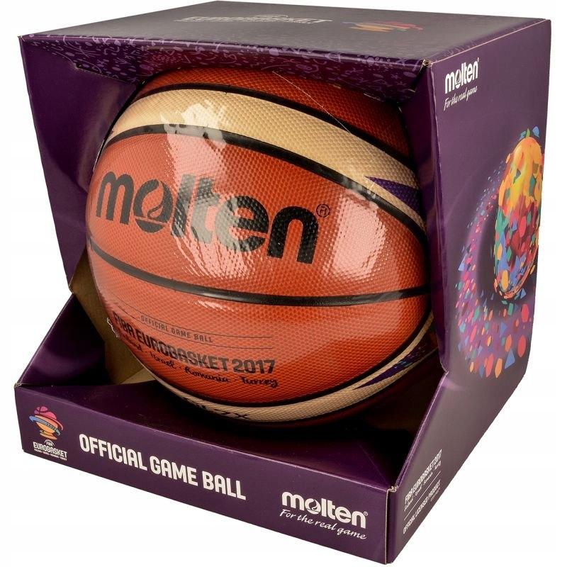 Piłka do koszykówki Molten BGL7X-E7T EuroBasket 20
