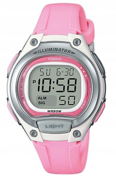 Zegarek Młodzieżowy CASIO LW-203-4AVEF Stoper
