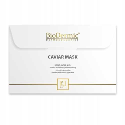 BioDermic Caviar Extract Maska na twarz na tkanini
