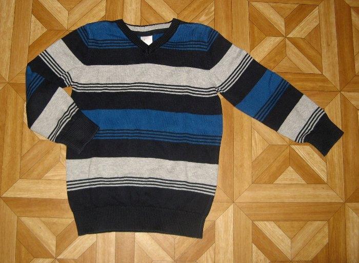 C&A PALOMINO Sweter chłopięcy w pasy 122