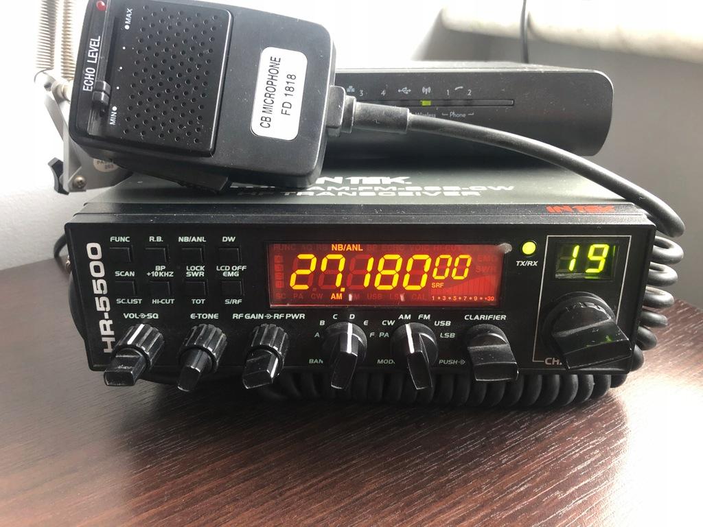 INTEK HR 5500+Farun FD1818 Tuning+Zasilacz203W