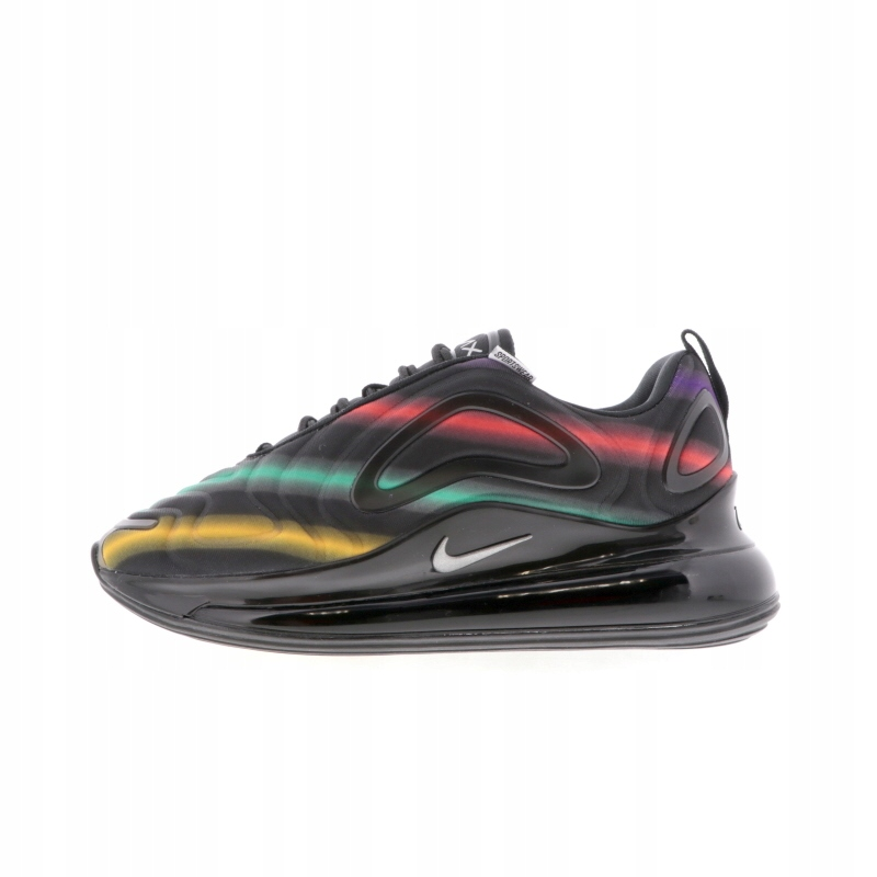 Archiwalne: Nike Air Max 720 Black With Rainbow Line R(41 45